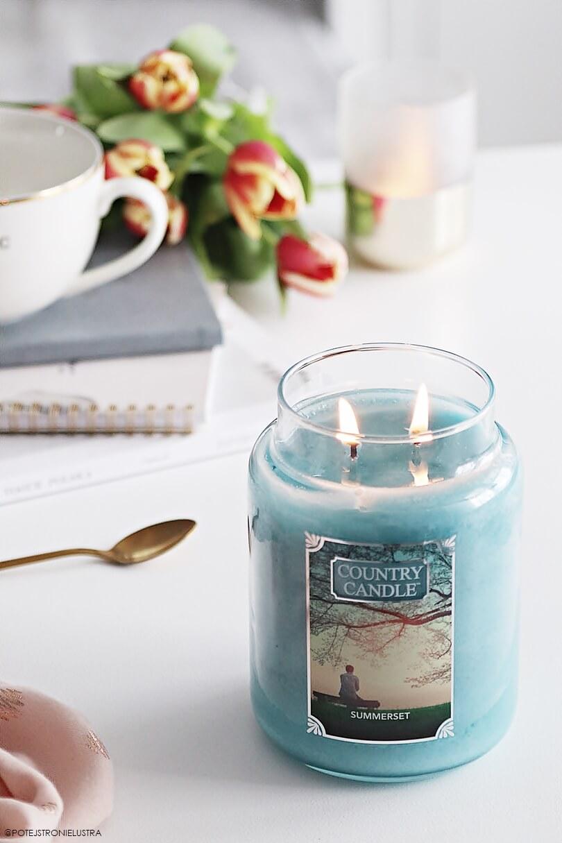 country candle summerset świeca zapachowa