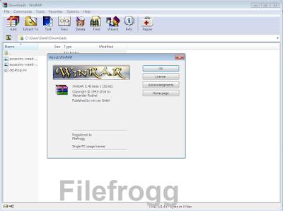 WinRAR 5.40 Beta 1 Full