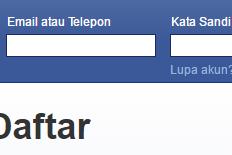 # Cara Masuk Facebook Baru | FB Login Indonesia #