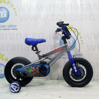 12 element marvel avengers lisensi bmx sepeda anak