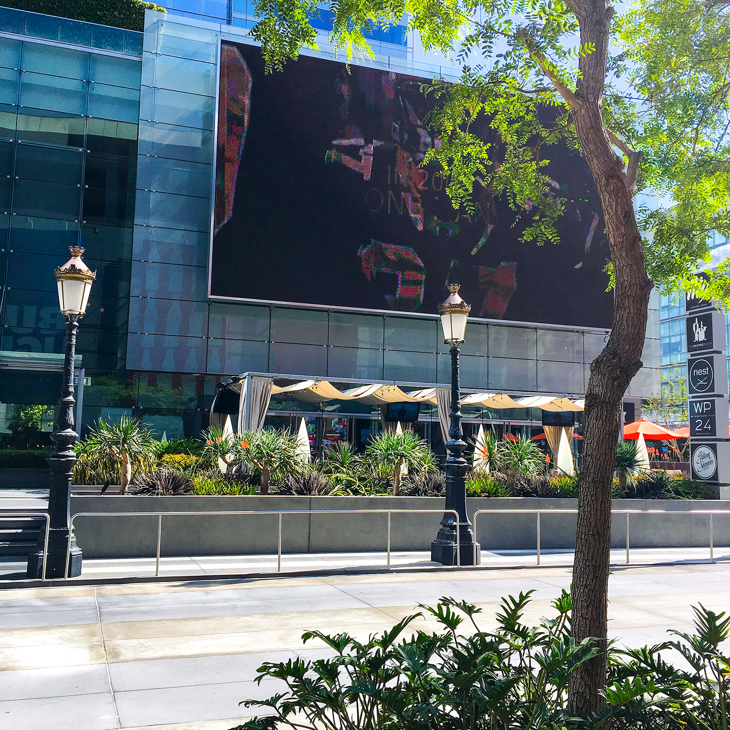 Travel to Los Angeles, California. J.W. Marriott hotel, Downtown,