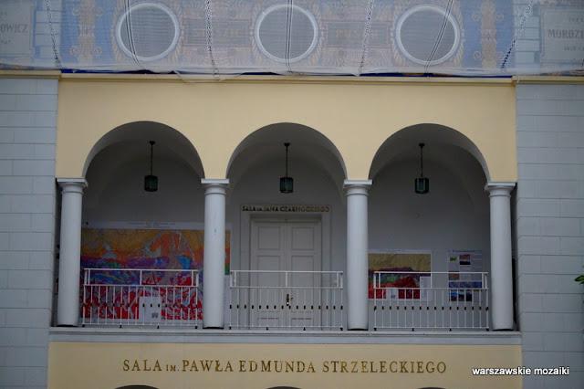 Warszawa Warsaw Marian Lalewicz Rakowiecka 4 Mokotów architektura klasycyzm Wiśniowa