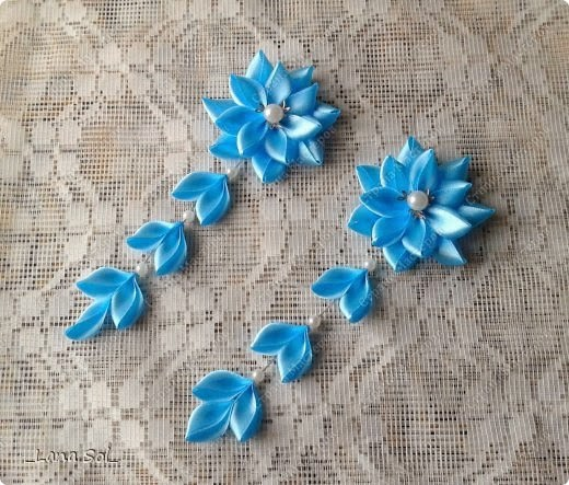 craft ideas using ribbon diy ribbon hairpin flower the idea king 3954