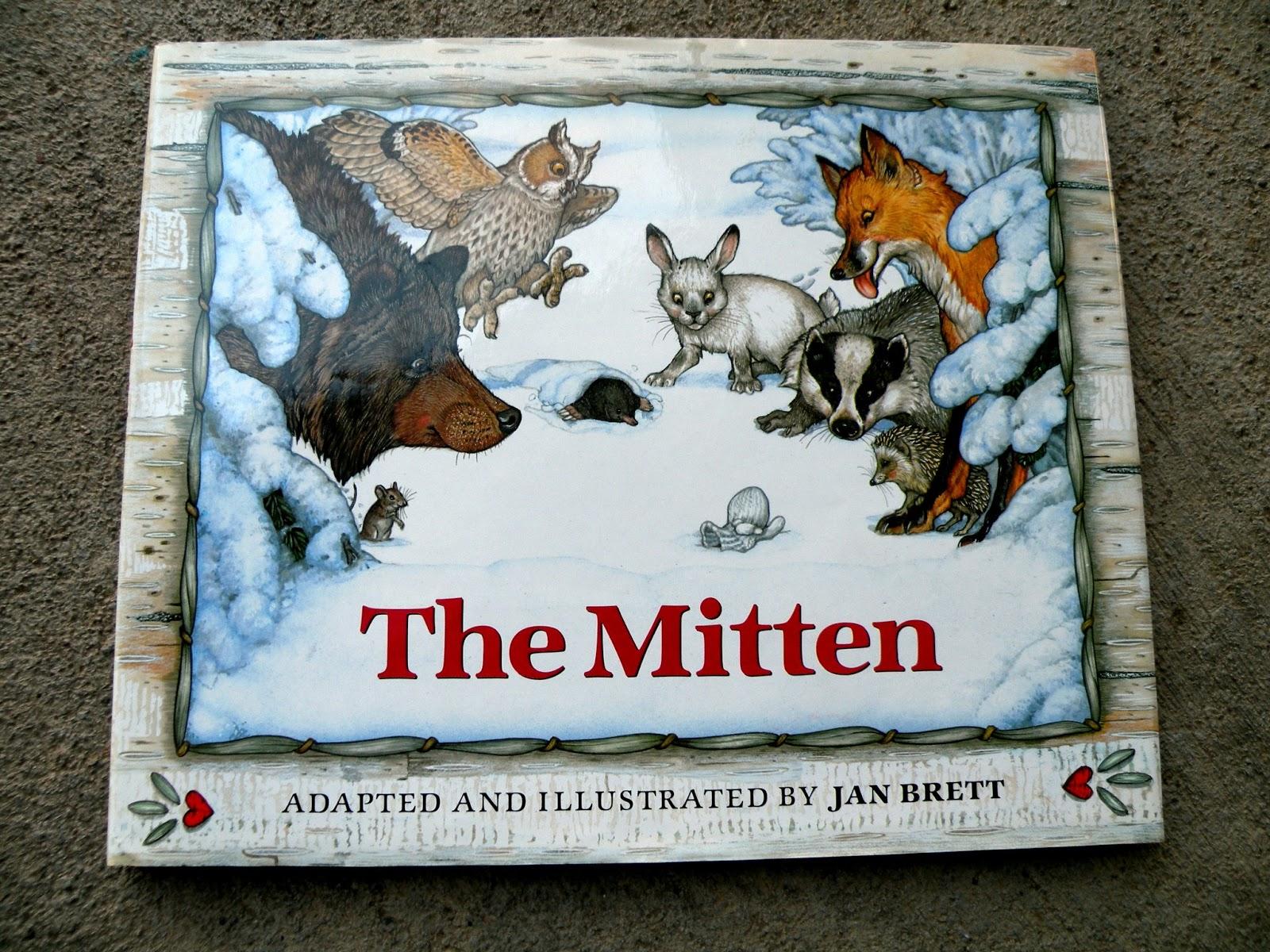The Fantastic Five The Mitten Lapbooks