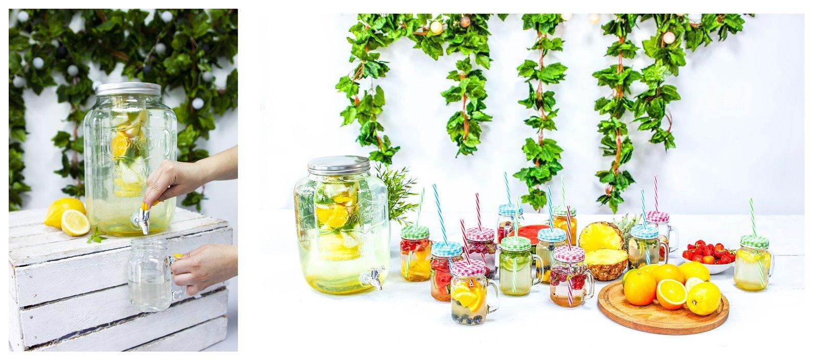 10 blog kulinarny łódź słodkie owoce lemoniady napoje na upał ile pić wody dziennie napoje najlepsze do nawodnienia w upały youtube kulinaria kuchnia przepis inspiracje diy słoik słoiki browin łódź miasto