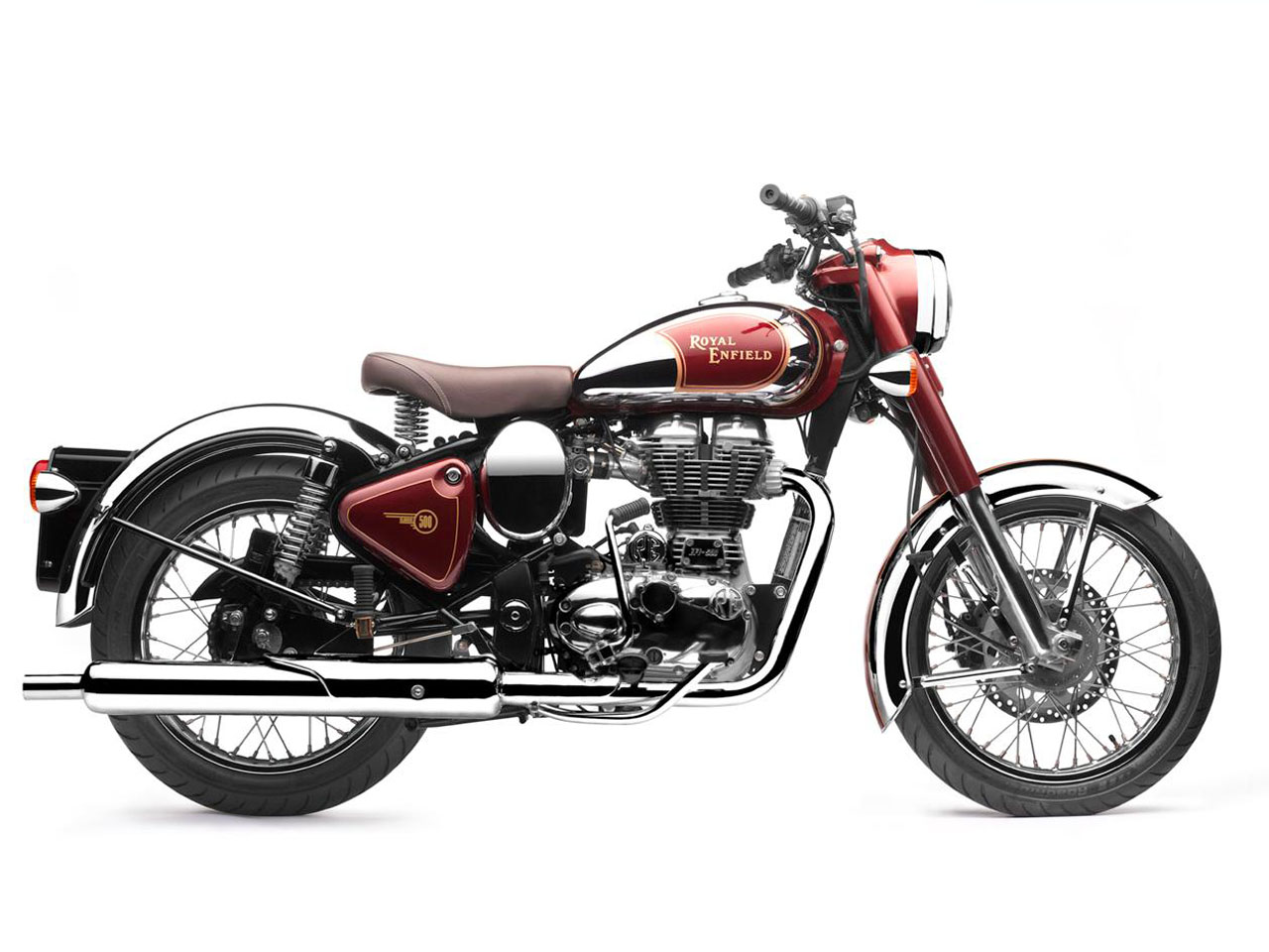 royal enfield classic chrome 500 motostreet. Black Bedroom Furniture Sets. Home Design Ideas