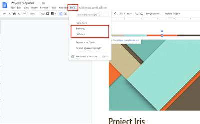 Gmail, Takvim ve Drive'da yeni bir destek simgesi.