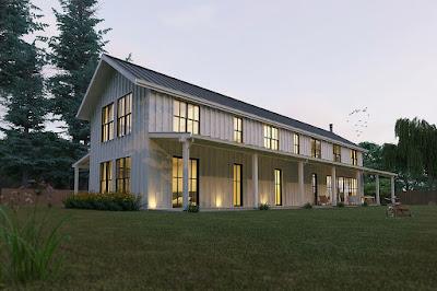 Nhà 1 tầng phong cách hiện đại -2
