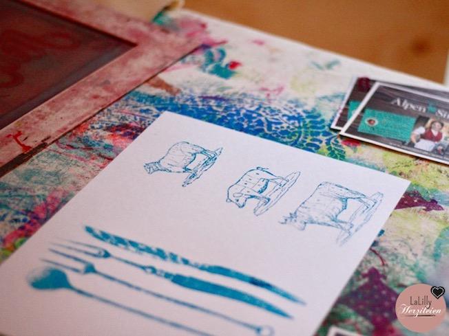 Siebdruck Fur Zuhause Handmade Kultur