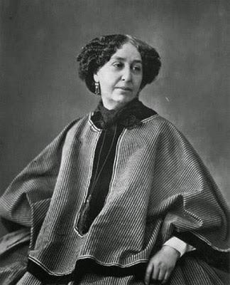 George Sand (1804-1876), escritora por Nadar
