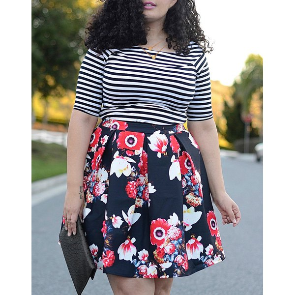 http://www.dresslily.com/scoop-neck-striped-t-shirt-and-floral-printed-skirt-twinset-product988438.html