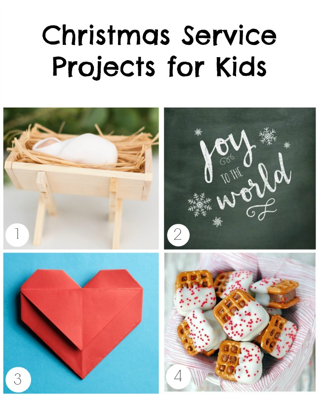christmas service projects for kids