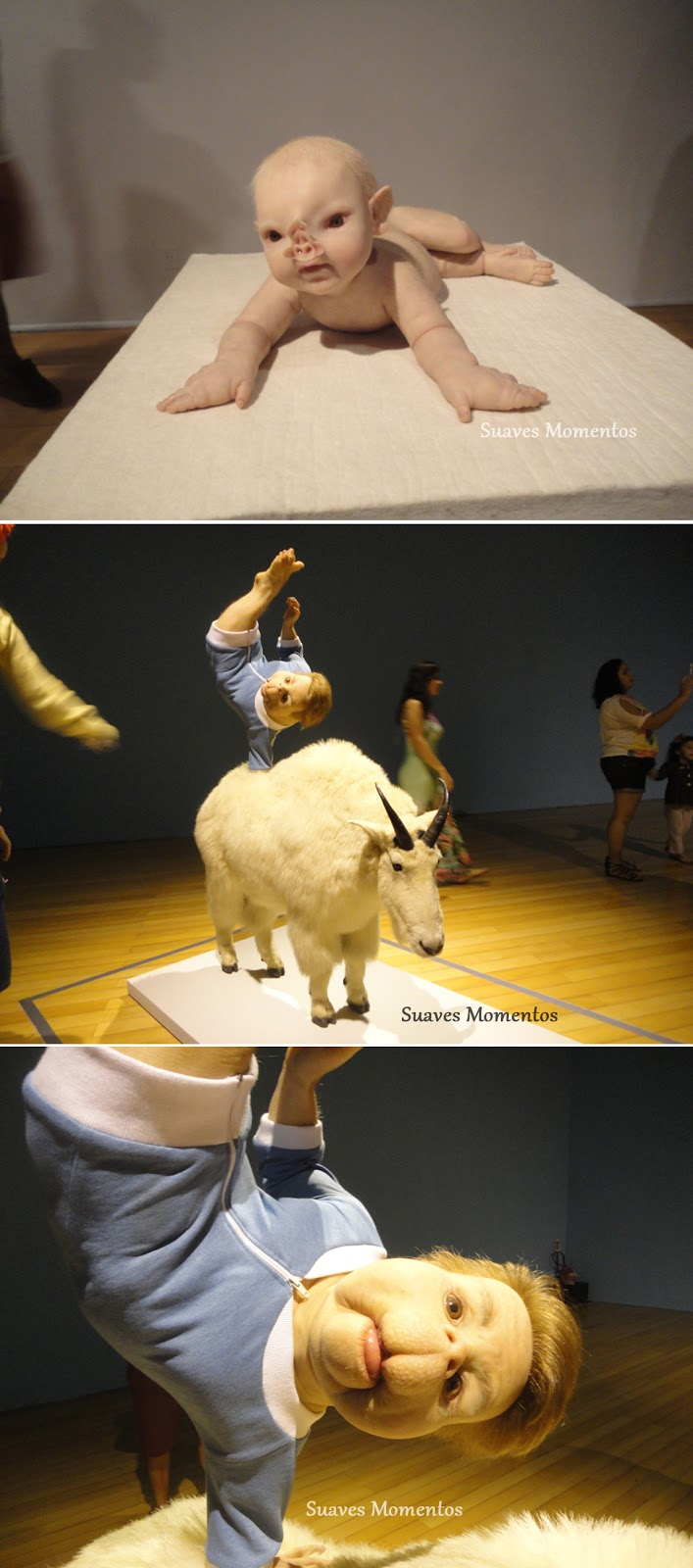 Exposição ComCiência de Patricia Piccinini