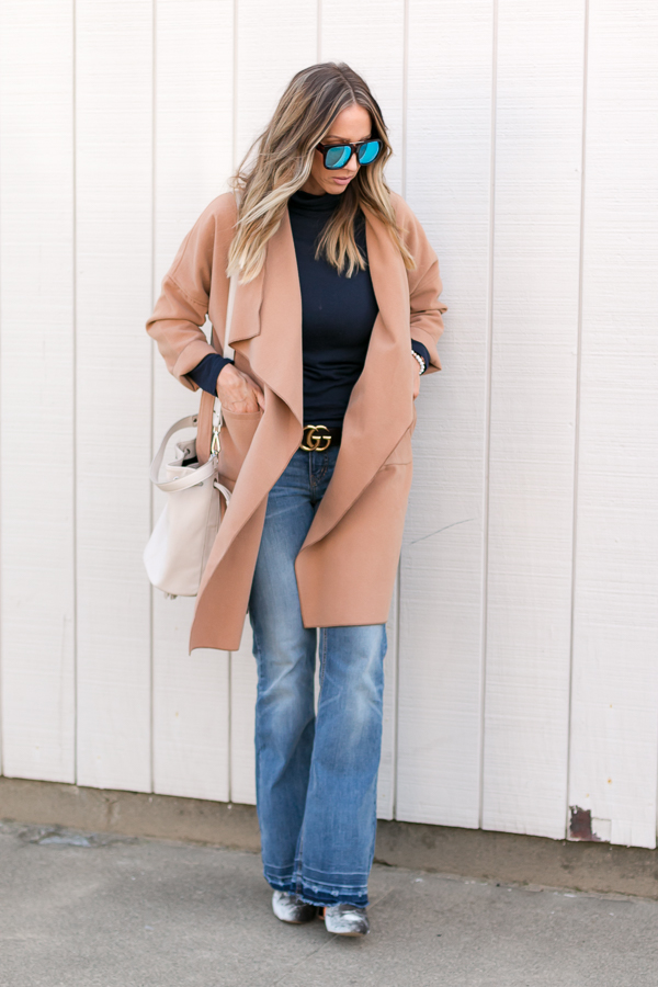 spring layering outfit