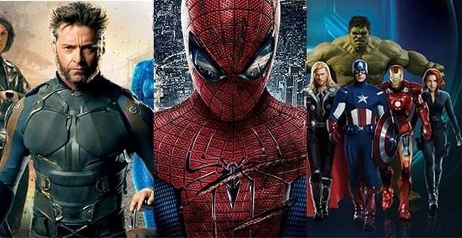 Evolução dos uniformes da Marvel
