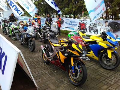Touring Wisata Suzuki GSX 150 season 2 area Sulawesi