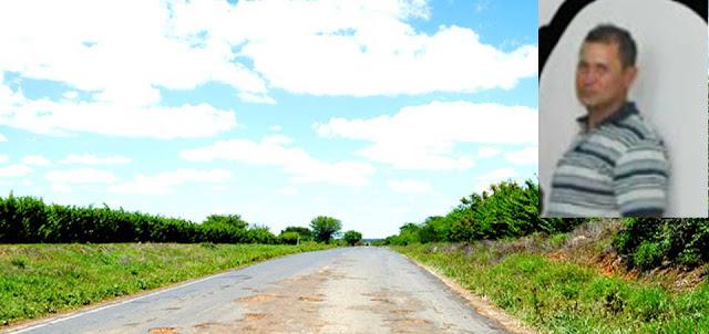 Imagem da Estrada e do Agente. Publicada no blogdofabioborges.com
