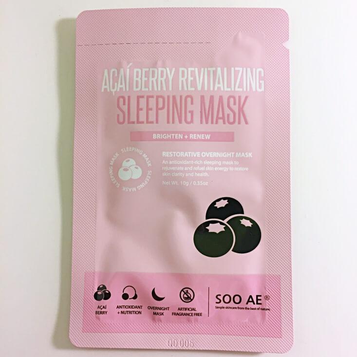 Soo AE Acai Berry Revitalizing Sleeping Mask