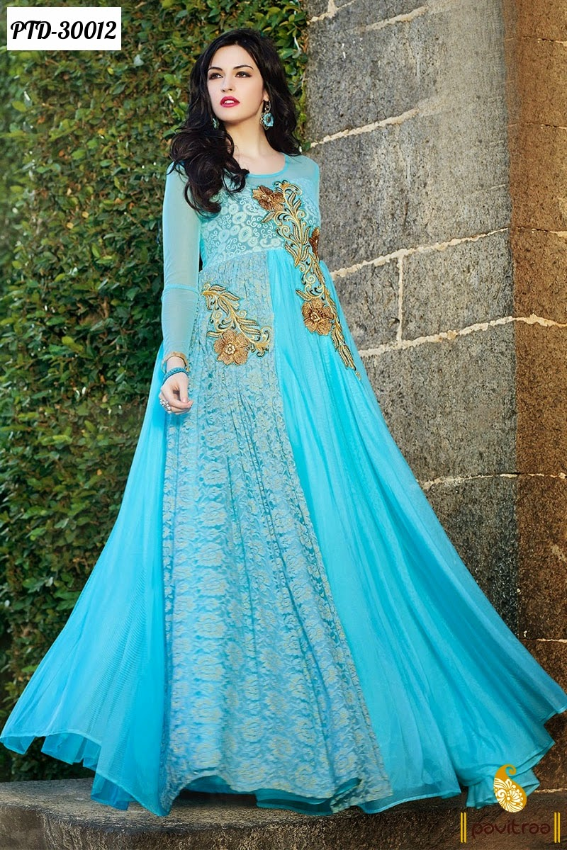 Wedding Reception Salwar Kameez at The Lowest Prices In India ...
