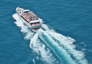Cinque Terre Ferry heading toward Portovenere