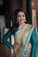 Tejaswi Madivada looks super cute in Saree at V care fund raising event COLORS ~  Exclusive 018.JPG