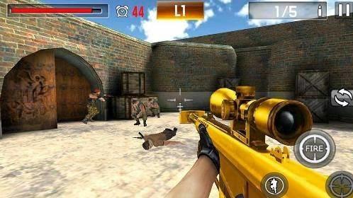 Download Shoot War: Professional Striker 3D Apk
