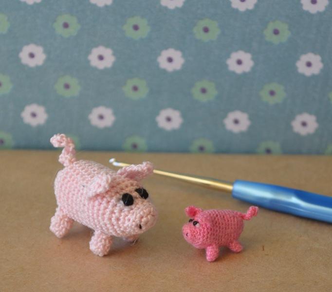 Häkelblog Täglich Neue Anleitungen Microgurumi Schwein