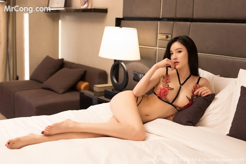 Image XingYan-Vol.121-He-Chen-Xi-MrCong.com-032 in post XingYan Vol.121: He Chen Xi (何晨曦) (49 ảnh)