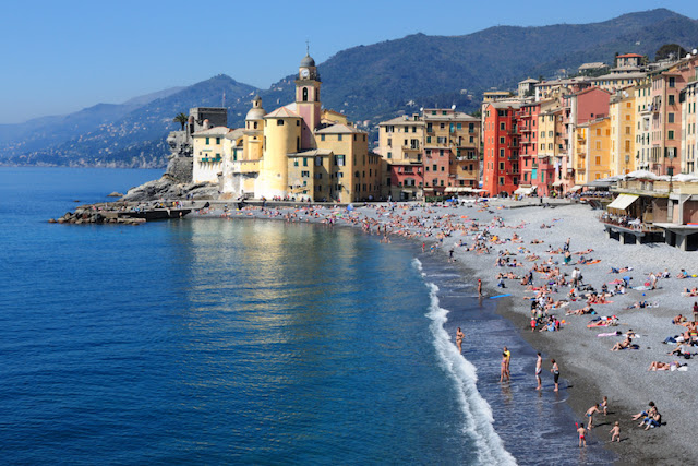Camogli Beach, Liguria