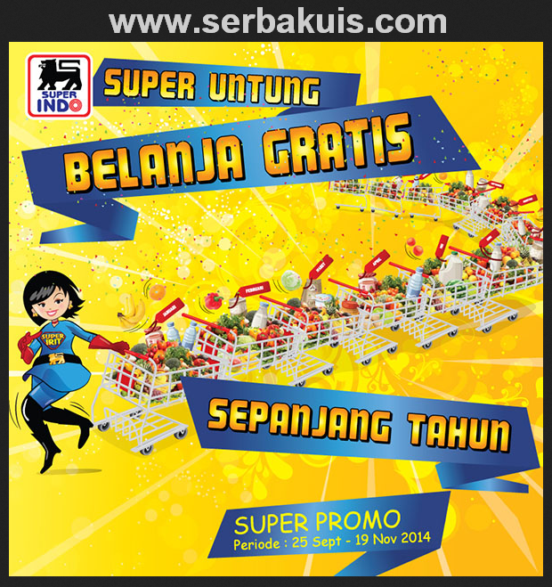 Promo Superindo Berhadiah Voucher Belanja Setahun