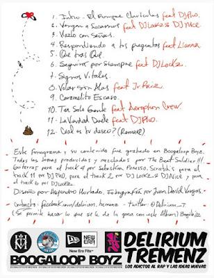 Delirium Tremenz - De La Rabia Y Otros Placeres