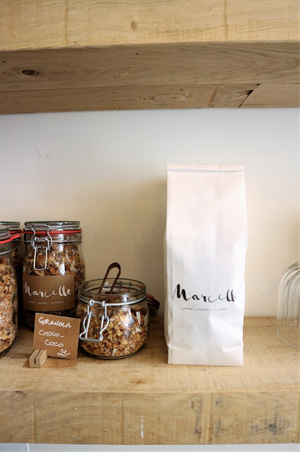 Marcelle / Healthy food / Blog Atelier rue verte / Granola /
