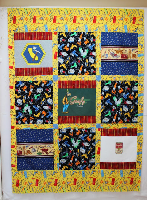 granddaughter t shirt quilt