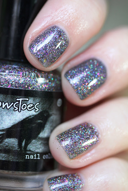 CrowsToes Abracadabra Hella Holo Customs nail polish