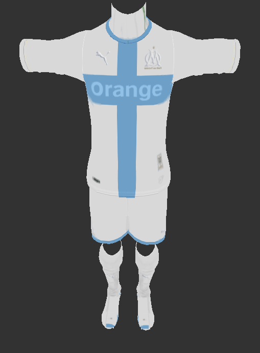 PES 2013 Olympique de Marseille (update wit euro kit and gk 1) by auvergne81