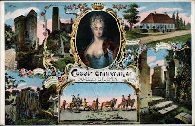 Ansichtskarte Stolpen Burg Stolpen: Mehrbild Gräfin Cosel 1915