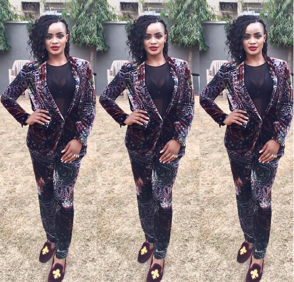 After she was trolled for looking like Bobrisky, Uche Ogbodo finally ditches punk hairstyle