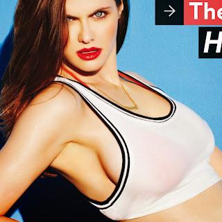 nice celebrity: Melissa Rauch hot FHM Magazine 2014