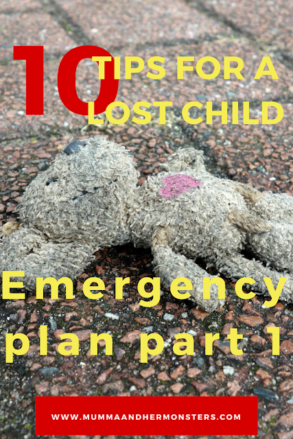 10 tips for a lost child
