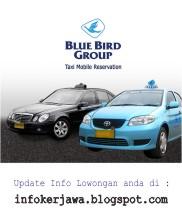 Lowongan Kerja Terbaru Blue Bird Group