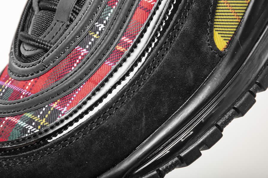 info for b21e4 2bfcb Nike Air Max 97 SE  Tartan  Black And Red Mens Womens AV8220-001 -  www.anpkick.com