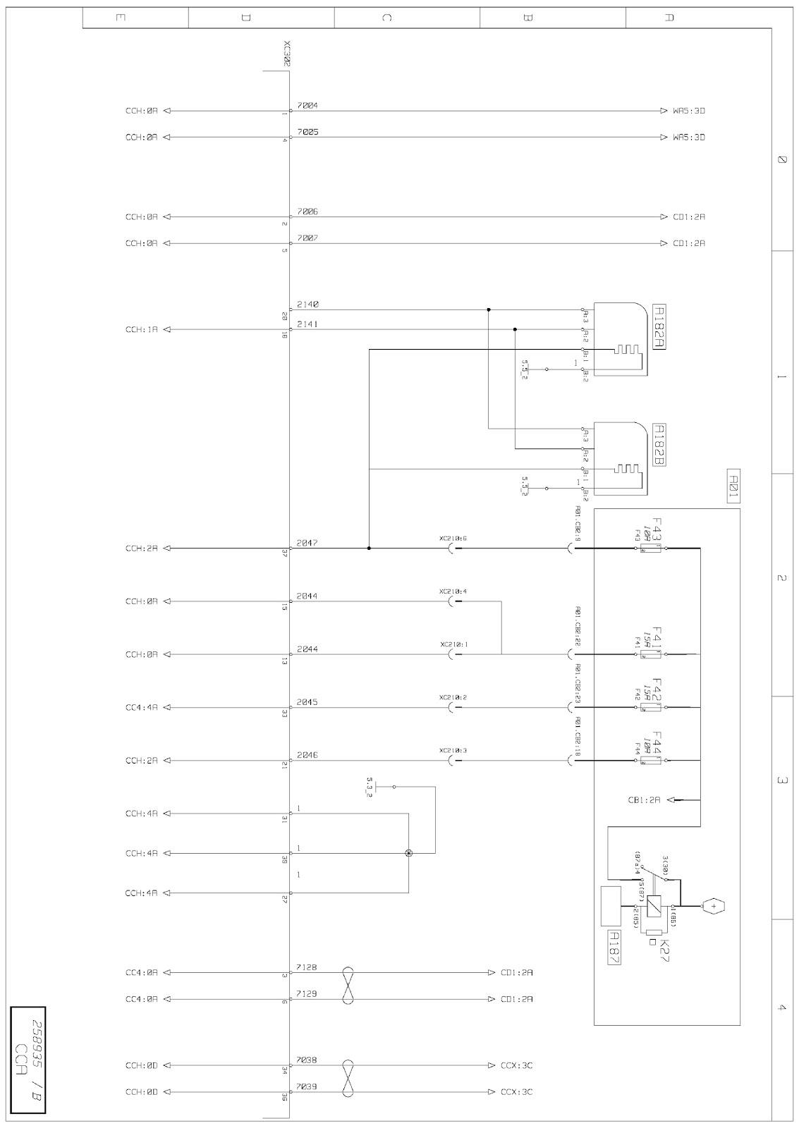 Wiring Diagrams Renault Trucks T Euro Vi Trailer Diagram Engine Management Interface Between And Vehicle