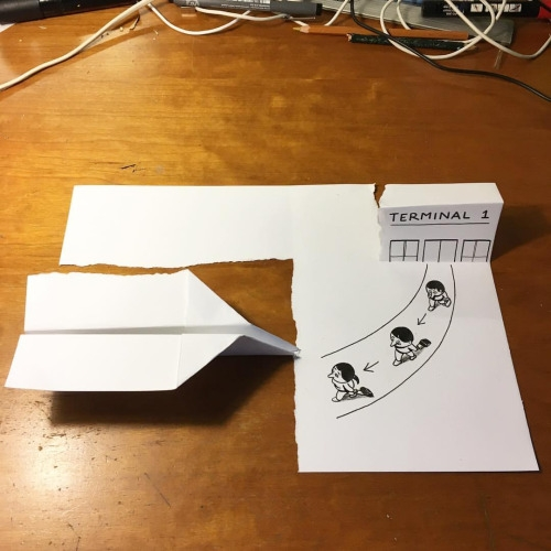 11-Husk-Mit-Navn-2D-Drawings-become-3D-with-the-help-of-Paper-www-designstack-co