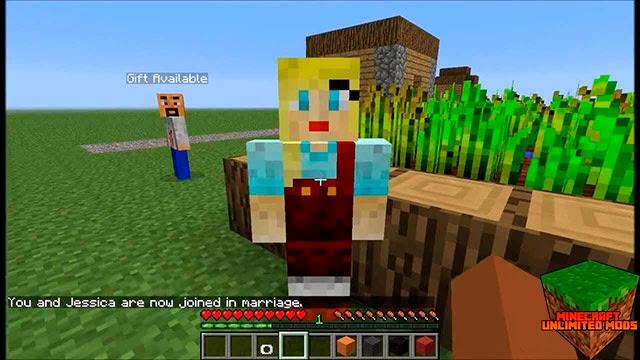 Minecraft Comes Alive Mod aldeanos