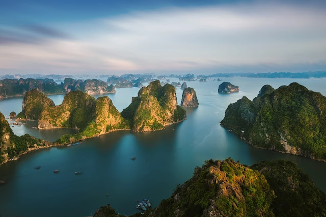 Natural Wonders of Limestone in Vietnam 1