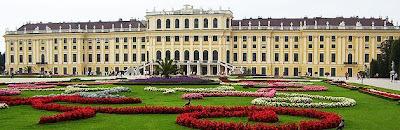 Viyana Schönbrunn Sarayı Bahçesi