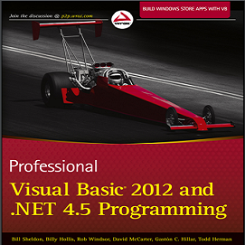 Professional Visual Basic 2012 And Net 4 5 Programming By Bill