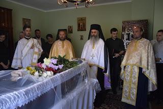 Inmormantarea Credinciosului Ioan Catana, Suceagu-Cluj