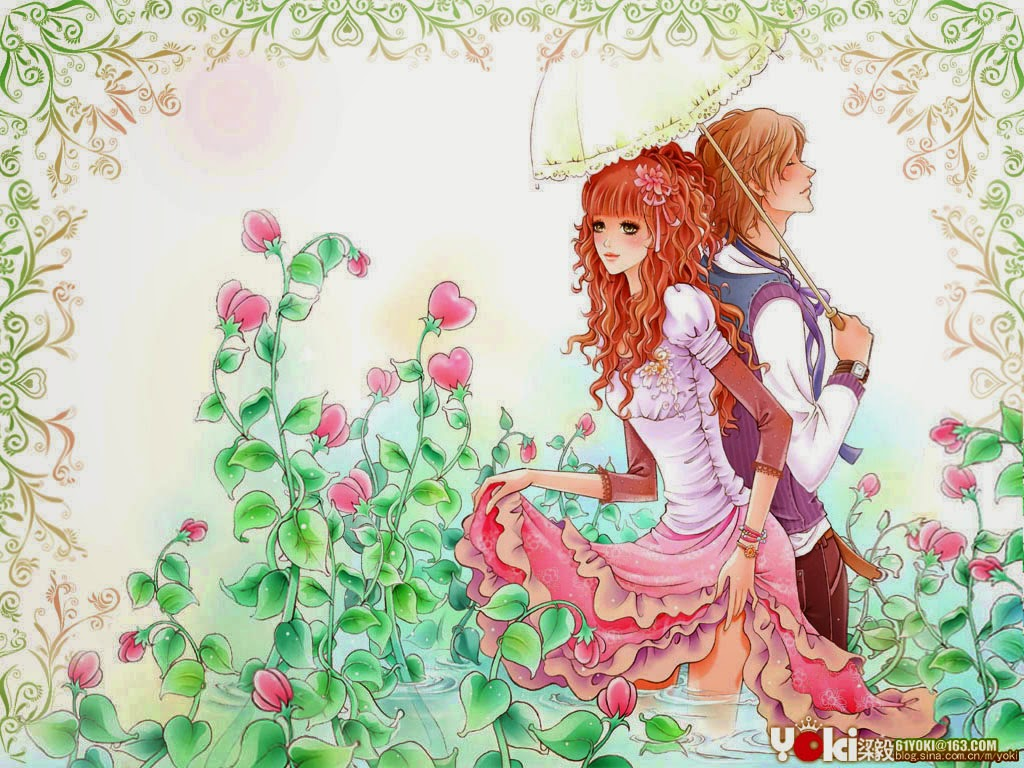 Kumpulan Gambar Wallpaper Terlengkap Gambar Kartun Romantis