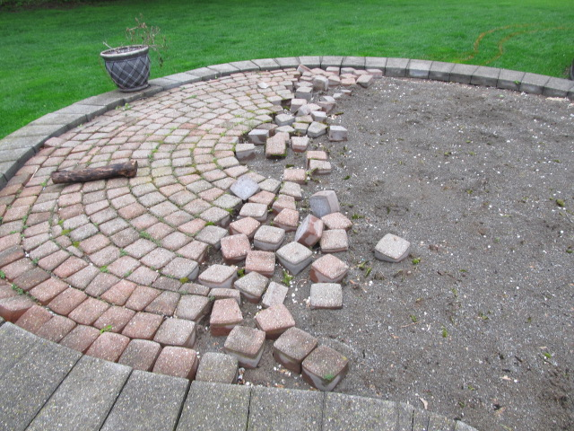 Elevated Brick Pavers Patio Is Restored, Redesigned, And Upgraded From  Ground Up To Its Original Beauty